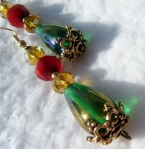 Holiday Elegance Earrings      Sold Locally at Inspired Creations     
